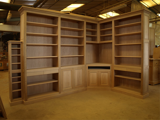 biblioth ques sp ciales en fabrication meubles hugon meubles normands bernay haute normandie. Black Bedroom Furniture Sets. Home Design Ideas