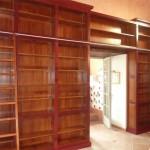 bibliothèque installée